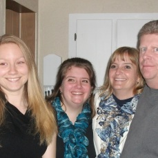 Caleb, Mallory, Lauren, Sue and Todd.