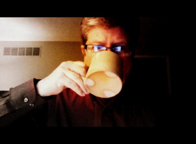 Enjoying my first cup of Joe - 04:50 on Thursday.