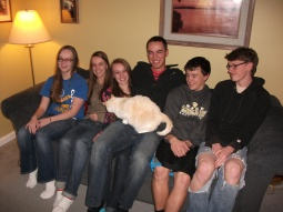 Anna, Rachel, Bekkah, Bruce, Joshua and Ben.