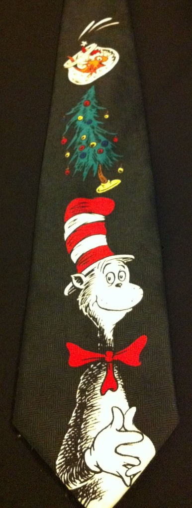 Nothing says Christmas like the Cat in the Hat.