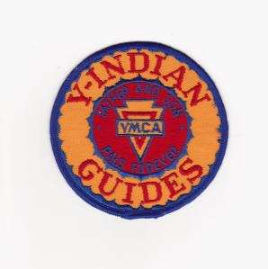 Y Indian Guide Patch First Grade