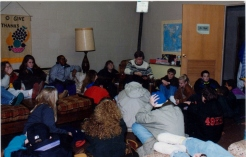 In the good old days with the CAC Youth Group.
