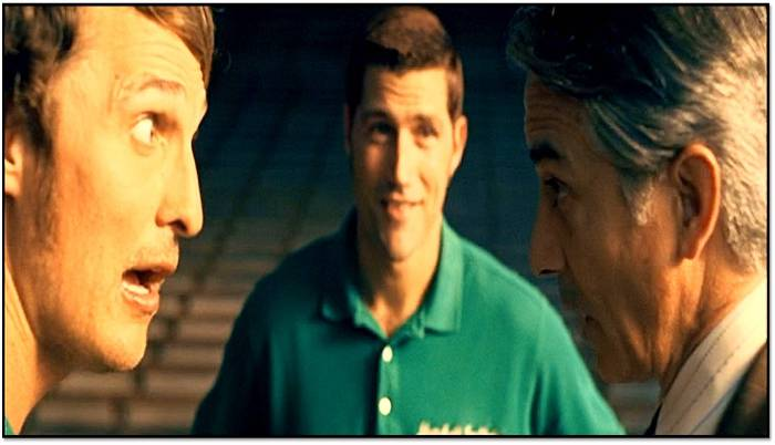 Matthew McConaughey as Coach Lengyel works his magic to rebuild a devastated football program.
