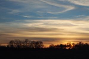 Sunset, February 17, 2013