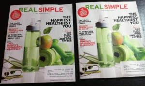We received our two copies of the monthly magazine that explains how to live more simply.