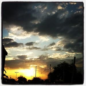 Houston Sunrise 2013.03.31