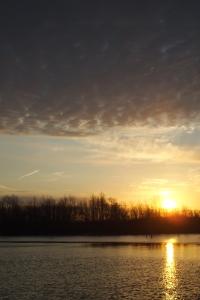 Sunrise over Summit Lake