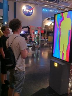 The boys discover digital delight.