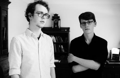 Elliott and Ben, Easter 2013.