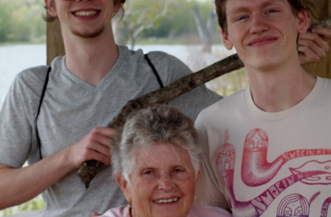 Ben and Elliott saved this woman's cane from the jaws of a massive crocodile!
