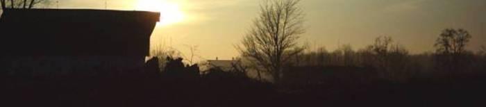 0033. Sunrise barn