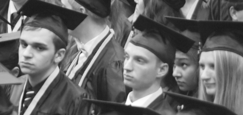 Graduation can be serious business.