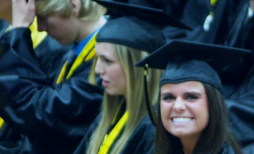 Graduation brings out the biggest smiles for some.