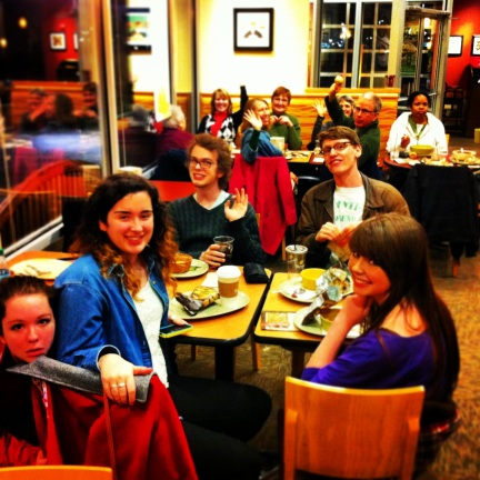 Our Weekly Panera Gathering After Church