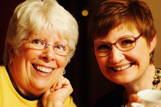 Mom and Anita.