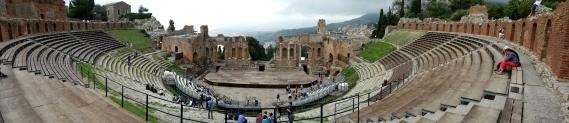The Green Amphitheater of Toarmina.
